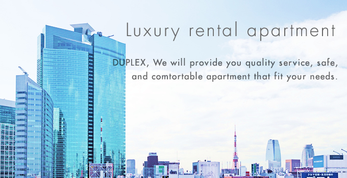 Luxury rental apartment